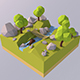 Low Poly Forest - 3DOcean Item for Sale