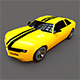 Chevrolet Camaro Low Poly - 3DOcean Item for Sale