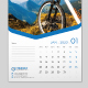 Wall Calendar 2020 - GraphicRiver Item for Sale