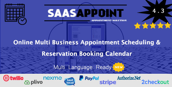 Booking Appointment PHP Scripts from CodeCanyon