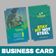 GYM Fitness Business Card - GraphicRiver Item for Sale