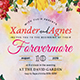 Forevermore Wedding Invitation - GraphicRiver Item for Sale