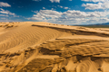Beautiful desert landscape with sand dunes. Mongolia. - PhotoDune Item for Sale