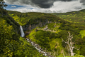 Beautiful landscape with a river and a waterfall. Kamchatka peni - PhotoDune Item for Sale