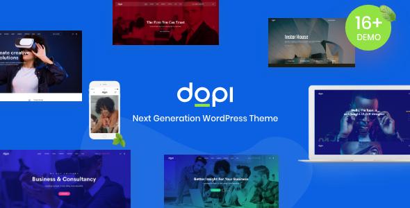 Dopi - Elementor MultiPurpose WordPress Theme