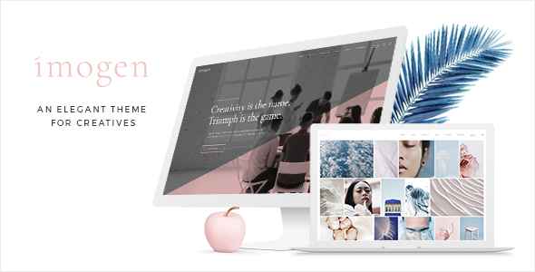 Imogen - Theme for Designers and Creative Businesses