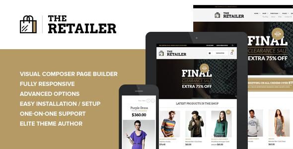 The Retailer – Premium WooCommerce Theme Free Download