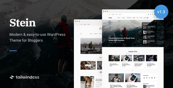 Stein ~ Blog & Magazine WordPress Theme