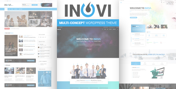 INOVI - Multi-concept WordPress Theme