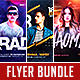 Electro DJ Flyer Bundle Vol. 1 - GraphicRiver Item for Sale