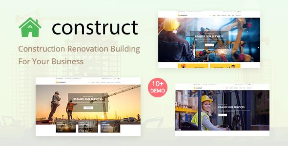 Construct - Construction WordPress Theme