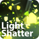3D Light Shatter Logo - VideoHive Item for Sale