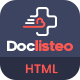 Doclisteo - Responsive Doctors Directory Dashboard Template - ThemeForest Item for Sale