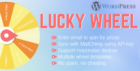 WordPress Lucky Wheel