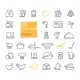 Cooking and Kitchen Icon Set - GraphicRiver Item for Sale