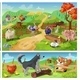 Cartoon Farm Animals Composition - GraphicRiver Item for Sale