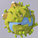 Low Poly Planet - 3DOcean Item for Sale