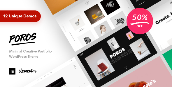 Poros - Business Portfolio WordPress Theme