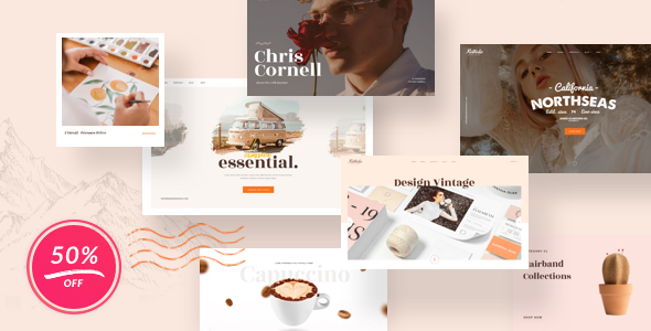 Vintage Retrolie - Retro Multipurpose WordPress Theme