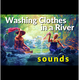 Washing Clothes in a River