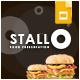 Stallo Food Google Slides Template - GraphicRiver Item for Sale