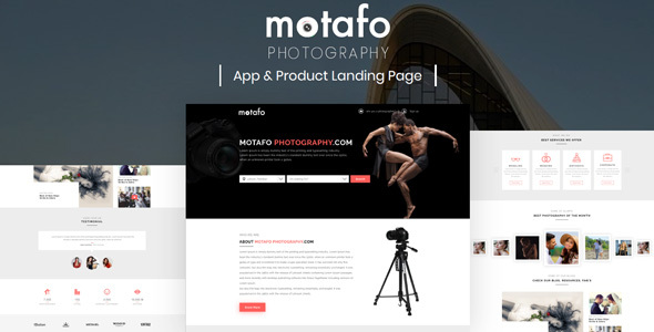Motafo – Photography Sketch Template