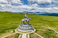 Genghis Khan Monument at Zonjin Boldog Mongolia - PhotoDune Item for Sale