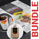 Restaurant 3x1 Bundle (Menu+Cup+Shopping Bag) - GraphicRiver Item for Sale