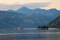 View on Islands of Saint George and Our Lady of the Rocks in Bay of Kotor, Montenegro - PhotoDune Item for Sale