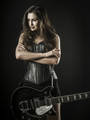 Sexy woman with electric guitar - PhotoDune Item for Sale