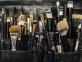 Bag of makeup brushes and apllicators - PhotoDune Item for Sale