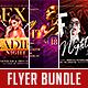 Night Club Flyer Bundle Vol.1 - GraphicRiver Item for Sale