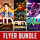 Club Party Flyer Bundle Vol.1 - GraphicRiver Item for Sale