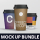 Coffee Cup Mockup Bundle - GraphicRiver Item for Sale