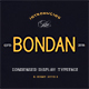 Bondan Typeface - GraphicRiver Item for Sale