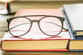 Close up Eye glasses and books-2 - PhotoDune Item for Sale