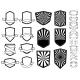 Set of Empty Emblems Design Element for Logo - GraphicRiver Item for Sale