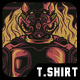 Rise the King T-Shirt Design - GraphicRiver Item for Sale