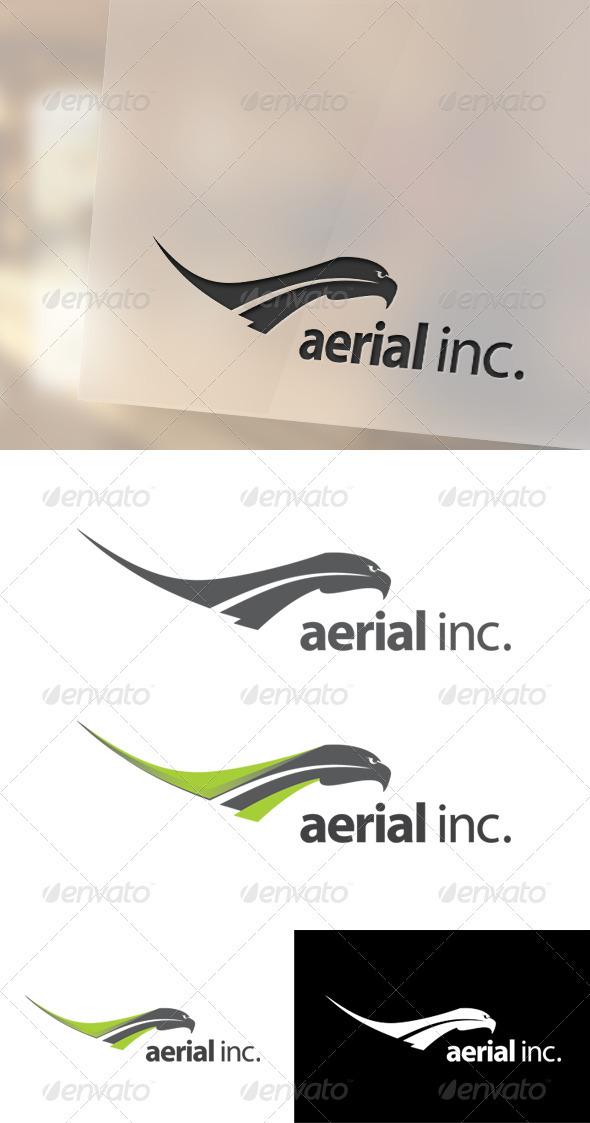 Aerial Logo Template