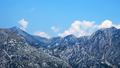 Panoramic view of mountains and blue sky - PhotoDune Item for Sale