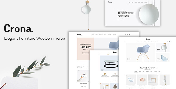 Crona | Elegant Furniture WooCommerce WordPress Theme
