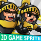 Glorious Prince 2D Game Character Sprite - GraphicRiver Item for Sale