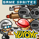 "Game Character Sprites ""Terrorists"" - GraphicRiver Item for Sale"