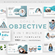 3 in 1 Goals Objectives Bundle Pitch Deck Powerpoint Template - GraphicRiver Item for Sale