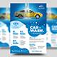 Car Wash Service Flyer - GraphicRiver Item for Sale