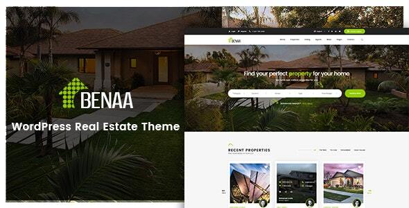 Benaa - Real Estate WordPress Theme