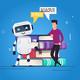 Human vs Robot Concept - GraphicRiver Item for Sale