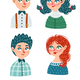 Collection of Different Men and Women - GraphicRiver Item for Sale