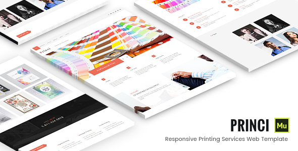 Printing Services Muse Template