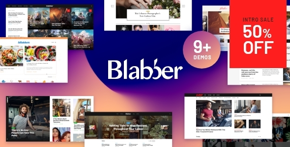 Blabber | All-in-One Elementor Blog & News Magazine WordPress Theme Free Download